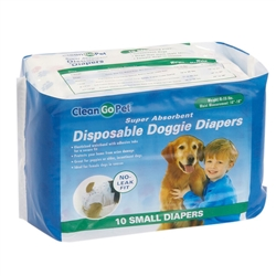 Clean Go Pet™ Disposable Doggie Diapers