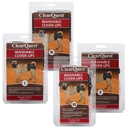 Clear Quest™ Washable Cover-Ups - 2 per pack, Black & Pink