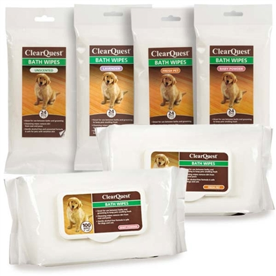 Clear Quest™ Bath Wipes