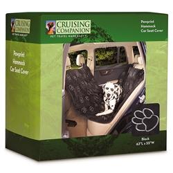 Cruising Companion™ PawPrint Hammock Car Seat Cover