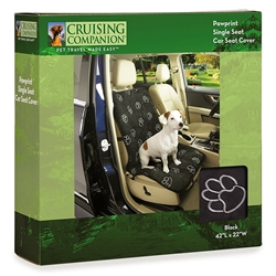 Cruising Companion™ PawPrint Single Seat Car Seat Cover