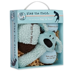 Dog is Good® Play the Field 4-Piece Toy Gift Pack