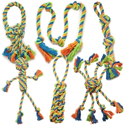 Grriggles® Mighty Bright Rope Toys