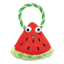 Grriggles® Happy Fruit Rope Tug Watermelon