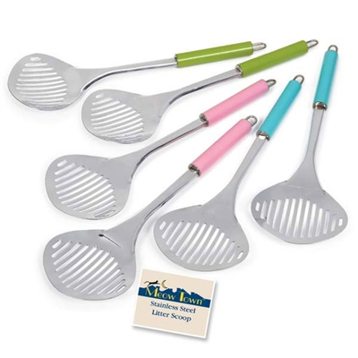 Meow Town™ Stainless Steel Litter Scoops
