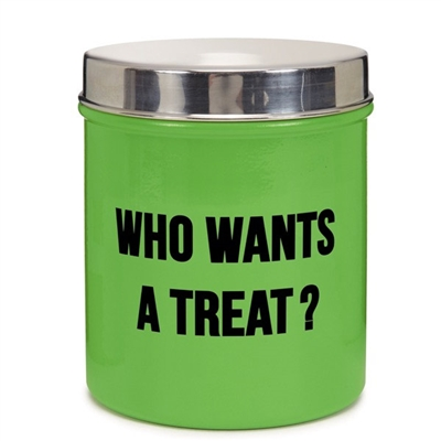 ProSelect® Chitchat Stainless Steel Treat Canister