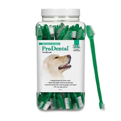 Top Performance® ProDental® Dual-End Toothbrushes - Canister of 50