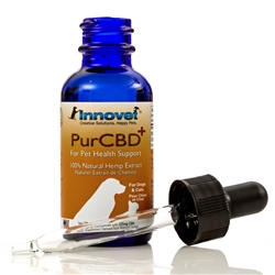 PurCBD+ PhytoCannaBinoiD Oil for Pets 125mg - by Innovet