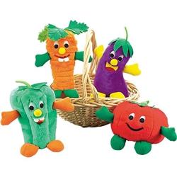 Zanies® Giggling Veggies Dog Toys