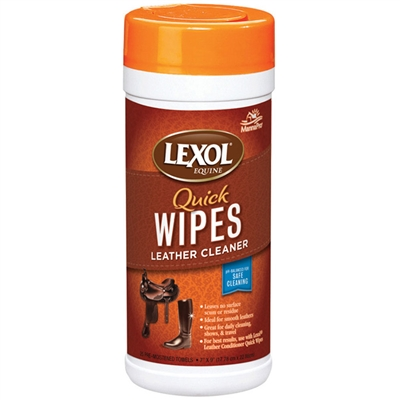 Manna Pro Lexol Leather Cleaner Quick Wipe