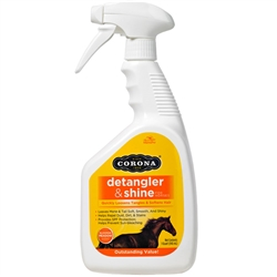 Manna Pro Corona Detangler & Shine 32 oz Spray