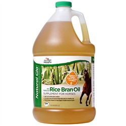 Manna Pro Natural Glo Rice Bran Oil Gallon