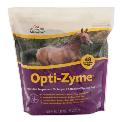 Manna Pro Opti-Zyme Digestive Supplement 3 lb