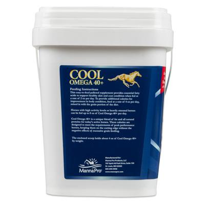 Manna Pro Cool Omega 40+,  8 lb