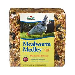 Manna Pro Mealworm Medley 3-6.5 oz Cakes