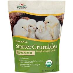 Manna Pro Organic Chick Starter Crumble 5 lb