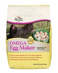 Manna Pro Omega Egg Maker™ (Omega Supplement for laying Hens)