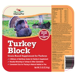 Manna Pro Flock Party Turkey Block 25 lb