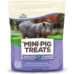 Manna Pro Mini Pig Treats Berry & Cream 4 lb bag