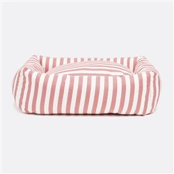 Stripey Soiree Square Snuggler Dog Bed
