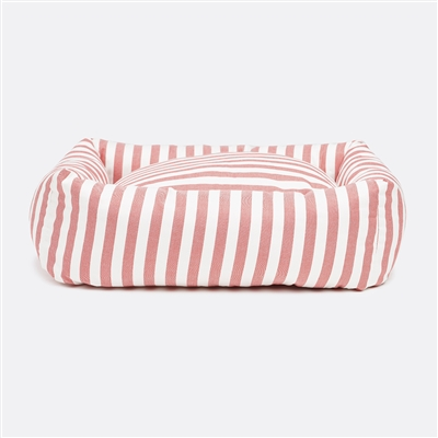Stripey Soiree Square Snuggler Dog Bed