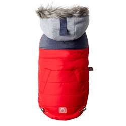 Red Cabin Jacket by GF Pet