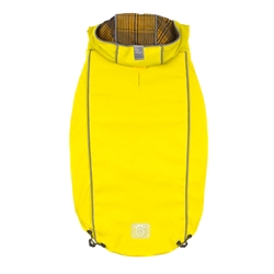 Yellow Reversible Raincoat by GF Pet