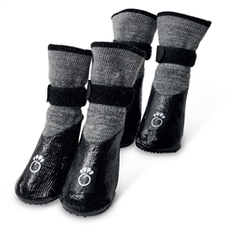 GF Pet - Booties, Grey
