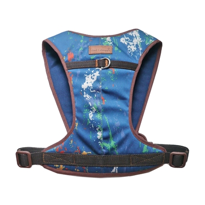 Cloak & Dawggie Denim Splash Snap N Go Harness  4500 series