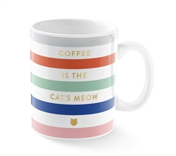 GRAPHIC CATS MEOW MUG
