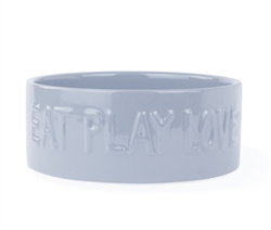 EAT PLAY LOVE SCULPT CLOUD PET BOWL - Large