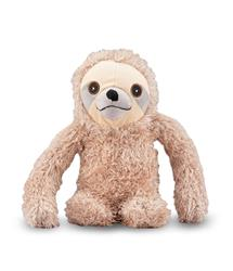 NANDOG MY BFF SHAGGY HAIR SLOTH PLUSH PET TOY TAN