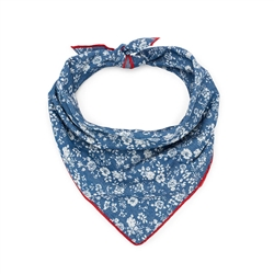 Denim Flower Bandana