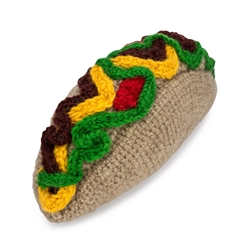 Taco Knit Toy