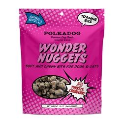 Wonder Nuggets w/Turkey & Cranberry 12 oz bag by Polka Dog