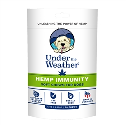 Under the Weather - Hemp Immunity Soft Chews for Dogs