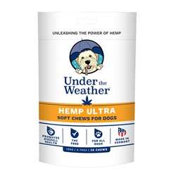 Hemp Ultra Soft Chews for Dogs by Under the Weather
