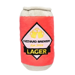 Beer Dog Toy by FuzzYard