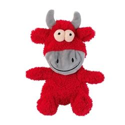 Jordan The Bull Flat Out Nasties Dog Toy by FuzzYard