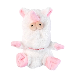 Electra The Unicorn Flat Out Nasties Dog Toy by FuzzYard