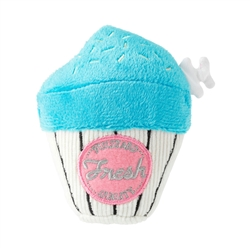 Blue Cupcake Dog Toy by FuzzYard