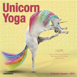Unicorn Yoga 2019 Mini Calendar