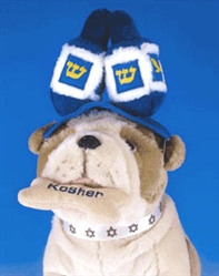 Dreidel Elastic Band Hat