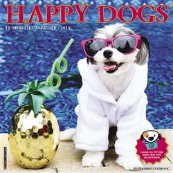 Happy Dogs 2019 Wall Calendar