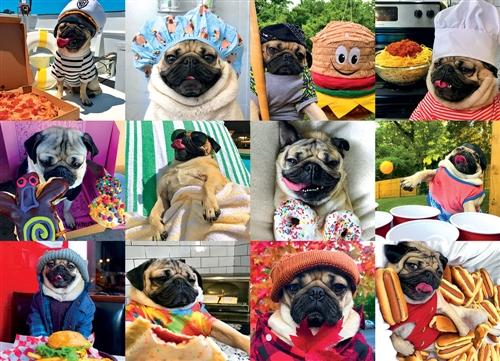 Doug the Pug: Pug Life Puzzle, 1000 piece puzzle