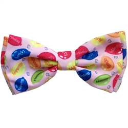 Party Time Pink Bow Tie by Huxley & Kent