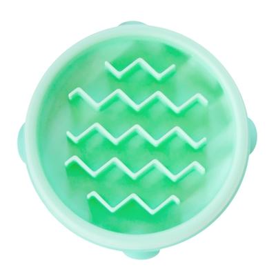 Fun Feeder Slo-Bowl - Mint Wave (X-Small)
