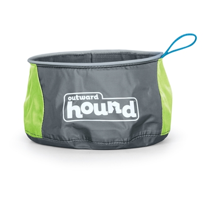 Port a Bowl Collapsible Hiking and Travel Folding Food and Water Bowl
