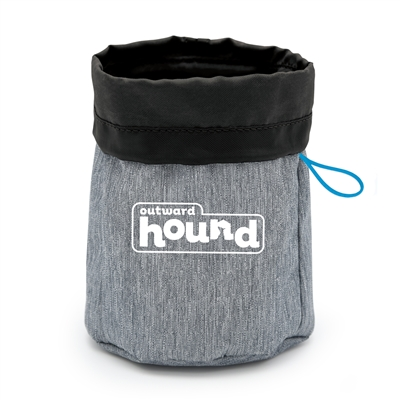Hands Free Dog Treat Pouch and Training Bag with Belt Clip