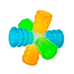 Triple Jack, Multi-Squeak Dog Toy